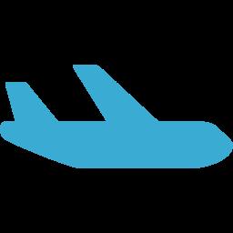 旅客機のフリーアイコン 1 Happy Pedal